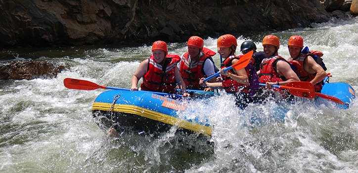 Rafting in Colorado