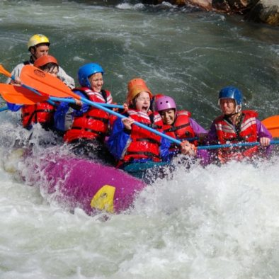 Girls Rafting Trip